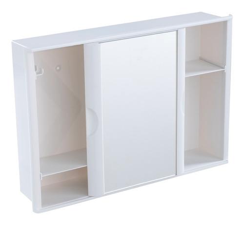 Armário C/ Espelho Porta De Correr Banheiro 41 X 28 Cm Astra