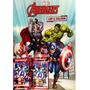 Colorir Heroi Avengers Com Cartinhas Vingadores Cards Bater