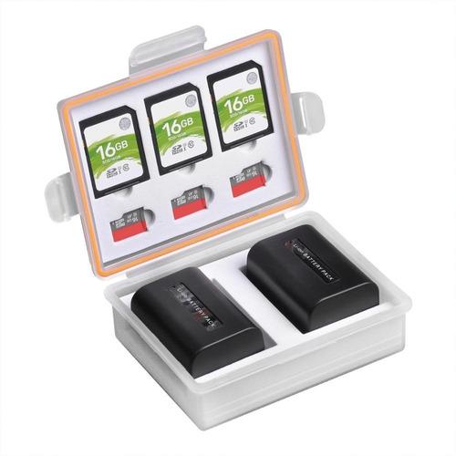Porta Case Estojo Á Prova Dágua Cartões E Baterias