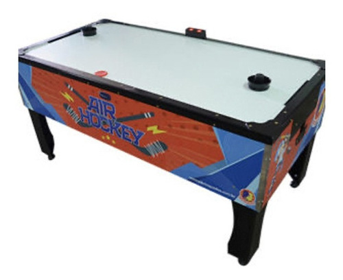 Mesa Jogo Aero Hockey Super C/ Placar Digital Profissional