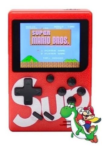 Mini Console - Video Game Com 400 Jogos - Mário, Pac Man