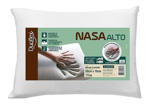 Kit Com 3 Travesseiros Nasaalto  Viscoelastico - Duoflex