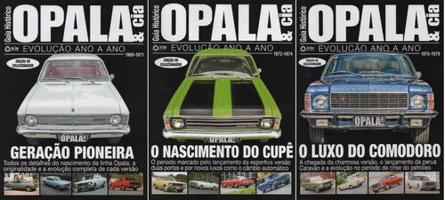 Kit Opala & Cia Especial Guia Histórico Evolução 1, 2 E 3