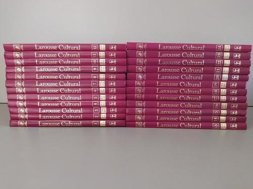 Livro Enciclopédia Larousse Cultural Compl 1999 Frete Grátis