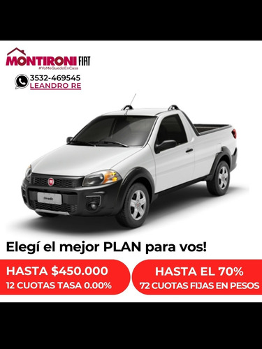 Fiat Strada 1.4 Working Cd 2020