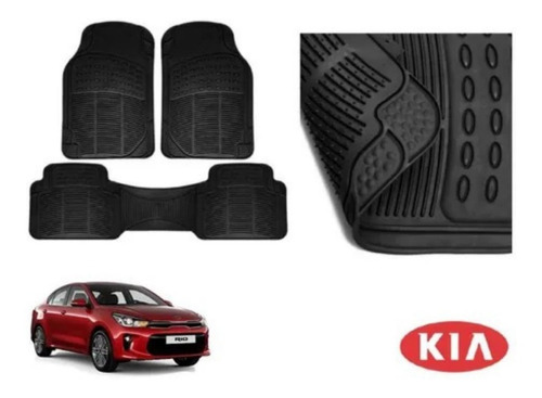 Kit Tapetes De Uso Rudo Kia Rio Hatchback 2020 Rb Original