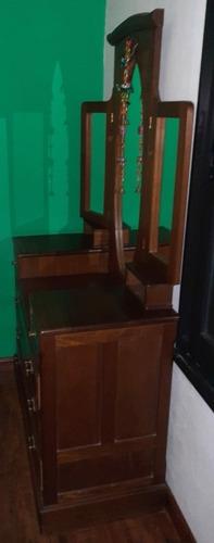 Mueble, Madera, Antiguo, Cómoda, Espejo, Tocador