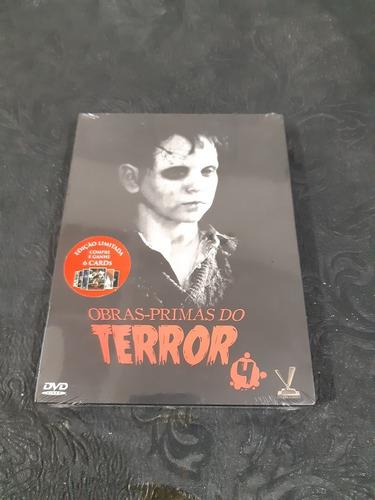 Dvd Obras Principais Do Terror .