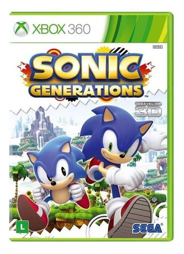 Sonic Generations Standard Edition Sega Xbox 360 Físico