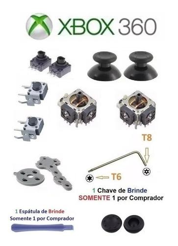 Super Kit Peças Reparo Do Controle Xbox 360 - Frete 15,81