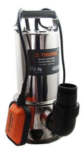 Bomba Sumergible Para Agua Sucia A. Inoxidable 1½ Hp Truper