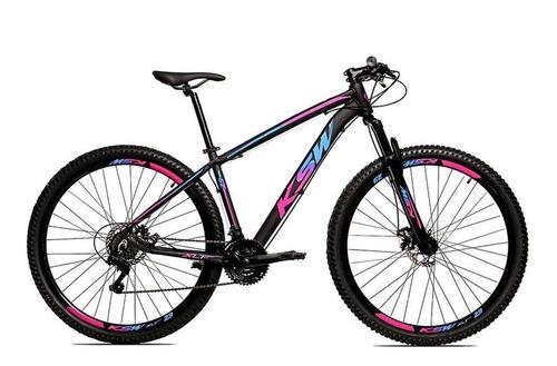 Bicicleta Aro 29 Ksw Shimano Tz 24 Vel Freio A Disco Ltx