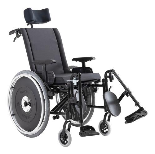 Cadeira De Rodas Avd Reclinável Alumíni 38 Ao 50 Cm Ortobras