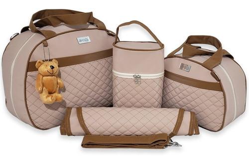 Bolsas De Maternidade Kit Completo Mala De Bebe Térmica Luxo