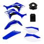 Kit Plastico Crf 250f Roupa Amx Completo Honda Azul / Branco