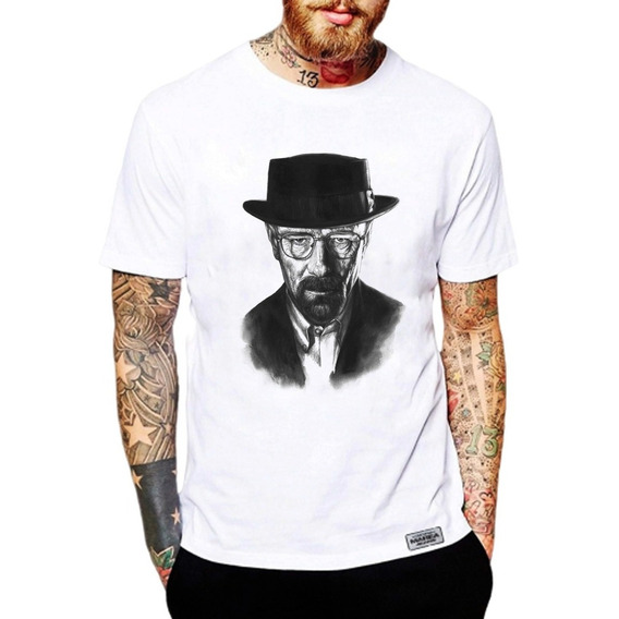 Remeras Breaking Bad Walter White Sombrero