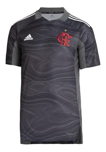Camisa Flamengo Goleiro 2 Cinza adidas 2021