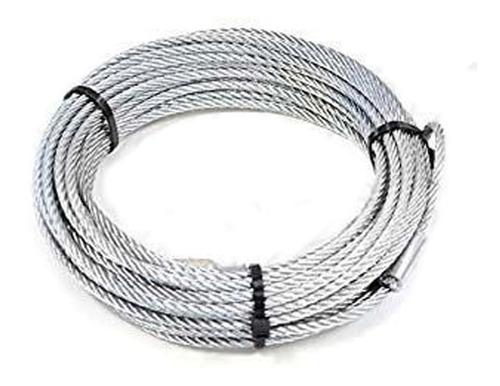 Cable De Acero Galvanizado Extra Flexible Ø 4 Mm