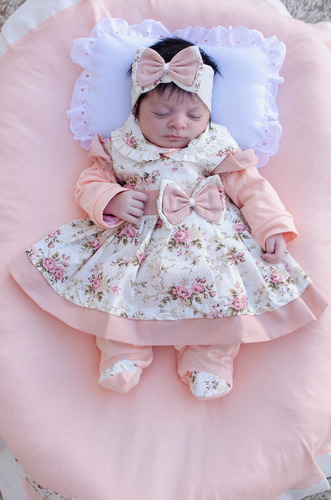 Saída De Maternidade Menina Charmosa 5 Peças
