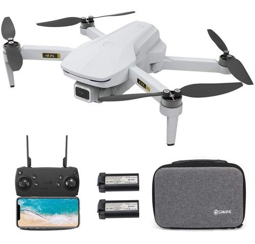 Drone Eachine Ex5 4k Gps Fpv 3 Baterias Maleta