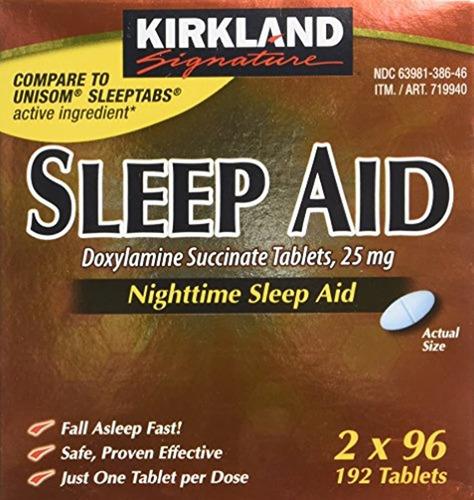 Kirkland Signature Sueño Doxilamina Succinate 25 Mg