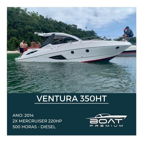 Ventura 350ht, 2014,2x Mercruiser 220hp - Feretti - Real Top