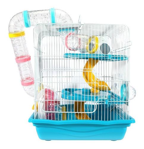 Gaiola Hamster Safari Grande Promoção Tubos Transparentes