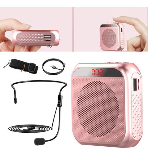 Microfone Portátil Dos Megafones Do Amplificador Da Voz Para