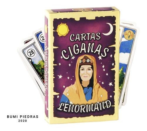 Tarot Cartas Gitanas O Ciganas Bumi Piedras