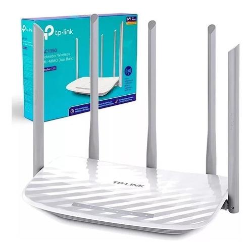 Router Wifi Archer C60 Ac1350 Tp-link Alta Potencia 5 Antena