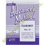 Método Clarinete Advanced Rubank Clarinet Vol.2
