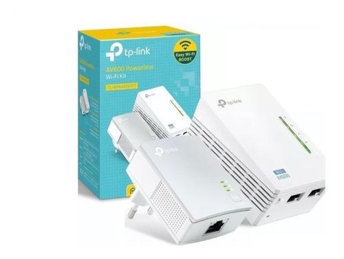 Tl-wpa4220 Kit Starter 300mbps Av600 Wifi Powerline Ver3.0