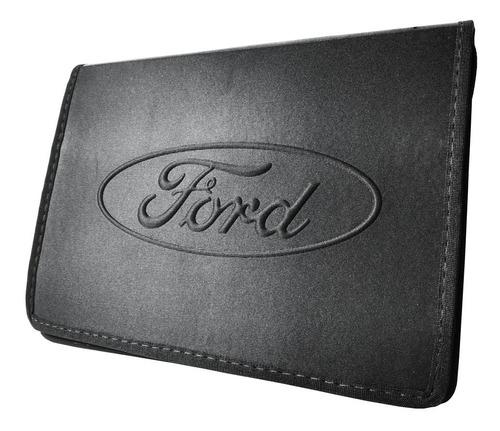 Porta Manual Do Proprietário E Documentos Ford F 250 F 1000