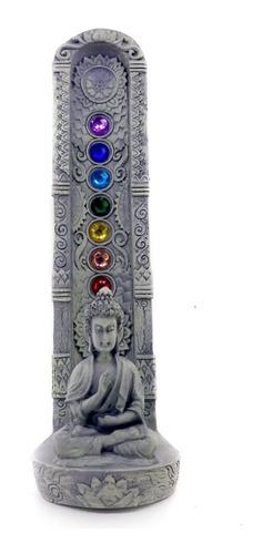 Incensário Vertical Buda 7 Chakras