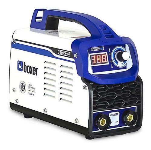 Máquina De Solda Inverter Boxer Touch 150 Bv 110v/220v
