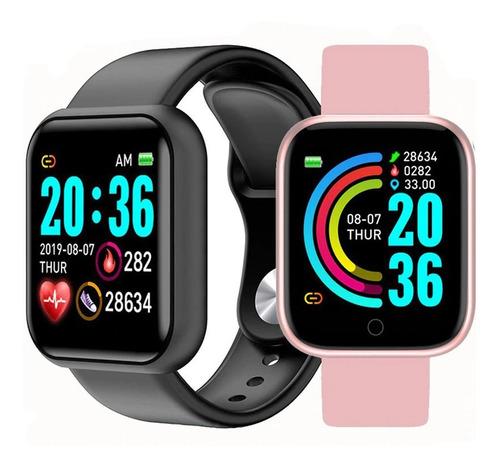 Relogio Smartwatch Inteligente Bluetooth Promoção C/ Nfe