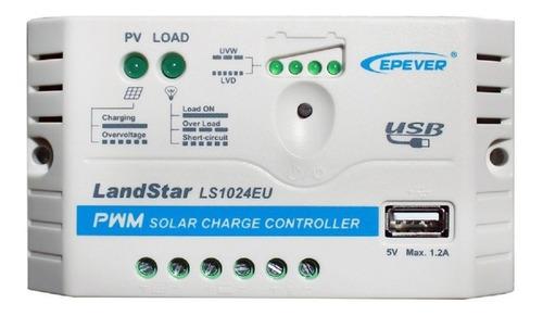 Controlador Regulador Solar Epever Ls1024eu 10a Usb
