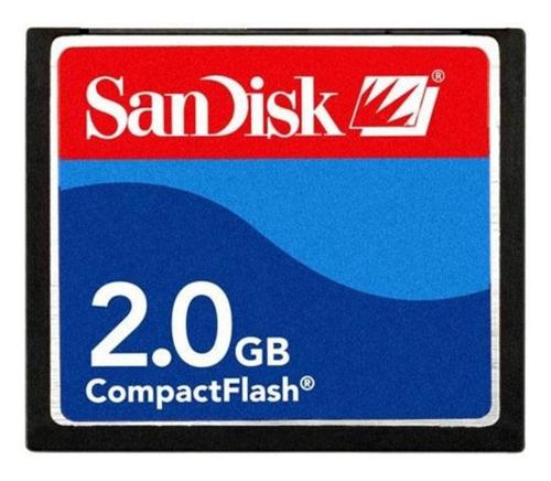 Tarjeta De Memoria Sandisk Sdcfb-2048-a10 2gb