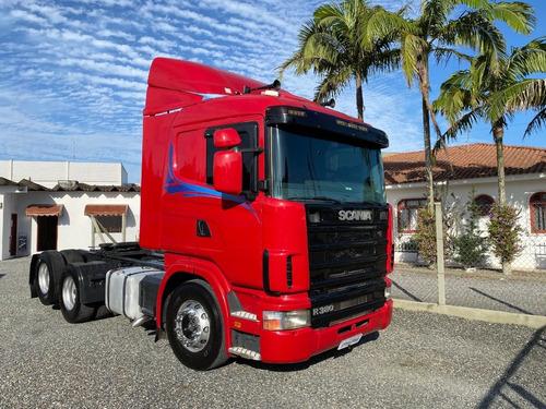 Scania R380 2008 Cavalinho Truck - Scania Topline Fh440 460