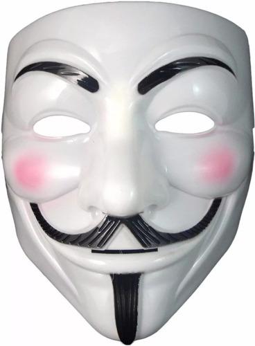 1 Máscara V De Vingança - Anonymous Vendetta Guy Fawkes