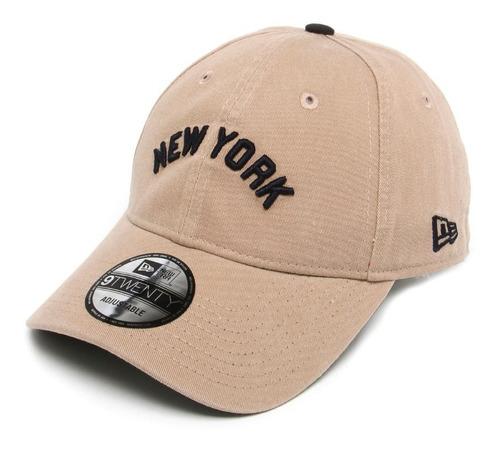 Bone Yankees New York Yankees New Era Original Bege Aba Curv