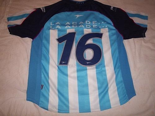 Camisa  Racing Club De Avellaneda 2001/2002 De Jogo Tam M