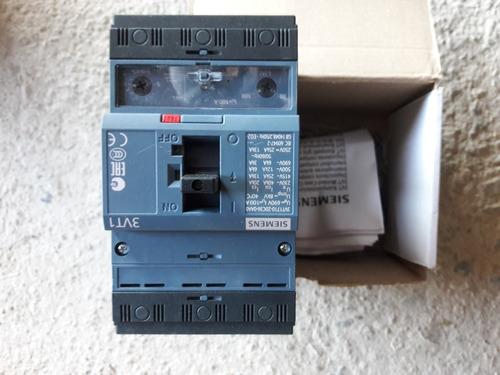 Interruptor Compacto 3 Polos Regulable De 80a - 100a 3vt1710