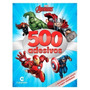 Livro 500 Adesivos Marvel Avengers Vingadores