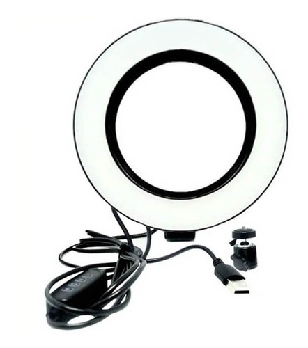 Iluminador Ring Light Led Anel Aro De Luz 8 Poledagas