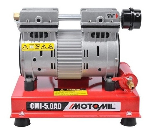 Compressor Ar Poço Artesiano Isento De Óleo 1hp Motomil 22