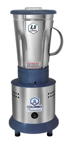 Liquidificador 1,8l Alta Rotação Industrial Inox 800w