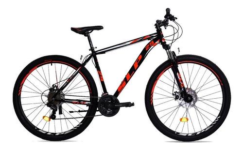 Mountain Bike Slp 5 Pro R29 18  21v Frenos De Disco Mecánico Cambios Slp Color Negro/rojo