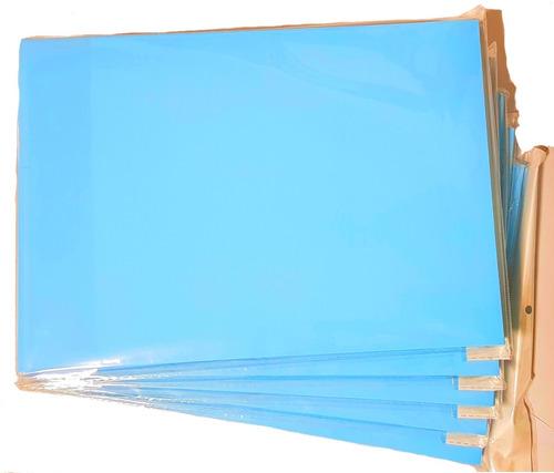 Papel Sublimatico A4 Fundo Azul 100 Folhas Promoção