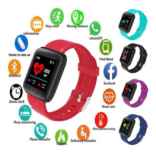 Relógio Inteligente Smartwatch Fitness Android E Ios